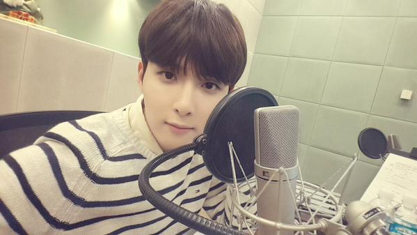 Super Junior 的主唱厲旭 他的聲音就跟外表一樣溫柔 ( /^ω^)/
