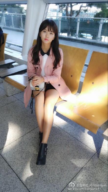 不久前因為工作行程炫風來台的金所炫 在IG上開心的與大家分享她在機場的照片