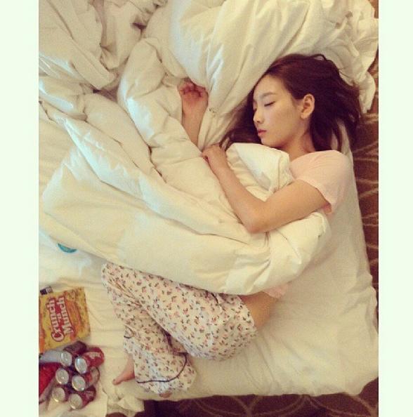 你以為太妍就是小小隻的女孩而已嗎?
