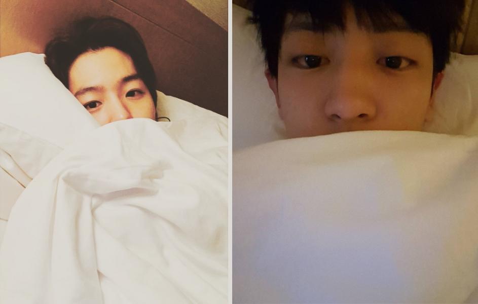 ★ 類型二 :: 睡前晚安照 ★  像這樣的床照(???)就是睡前傳訊息最常出現的照片啊!