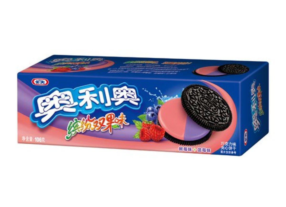滿足大家想一次嚐試多種口味的心理 推出的莓果好朋友組合 覆盆子+藍莓