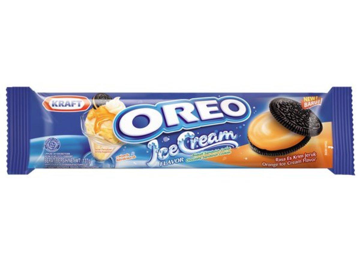 柳橙冰淇淋