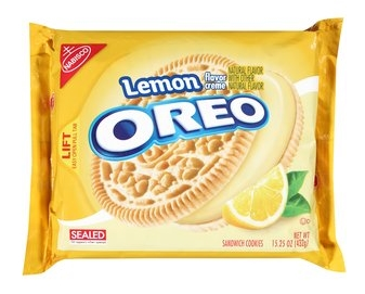 奶油餅乾搭配檸檬口味 (但這不是其他家餅乾的主打口味嗎?)