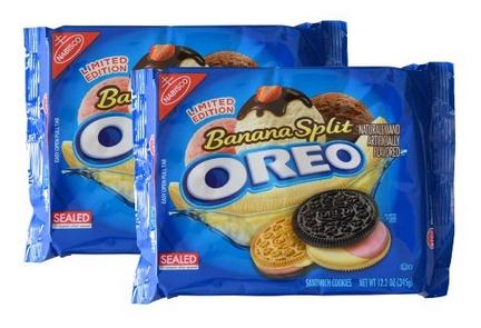不止夾心改成香蕉口味 這次連外層餅乾都有兩種選擇