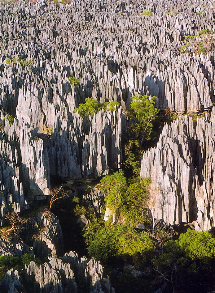 以喀斯特地形聞名,擁有保存完好的熱帶雨林,巍峨莊嚴的峽谷和眾多珍惜野生動物,1990年被聯合國列為世界遺產。
