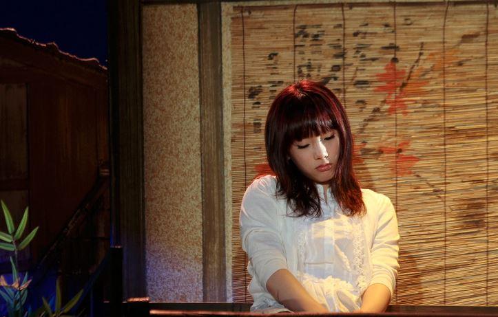 雖然不是電視劇或是電影  其實太妍也曾參與過音樂劇的演出