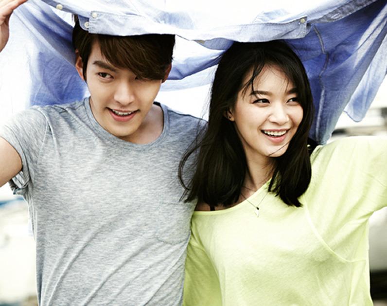 7月爆出戀愛時,他們就說是因為拍攝佐丹奴韓國代言廣告時產生了好感