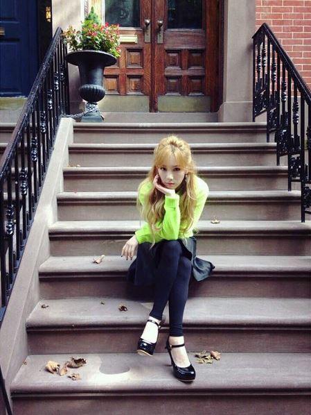 不久前太妍就在節目上說,「每當活動結束回到家裡的時候,就會有很孤獨的感覺」,特別感到空虛呢...