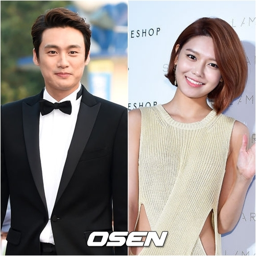 10月9日舉辦的韓國電視劇大賞,由主持人吳尚津與少女時代的秀英一起作為典禮MC