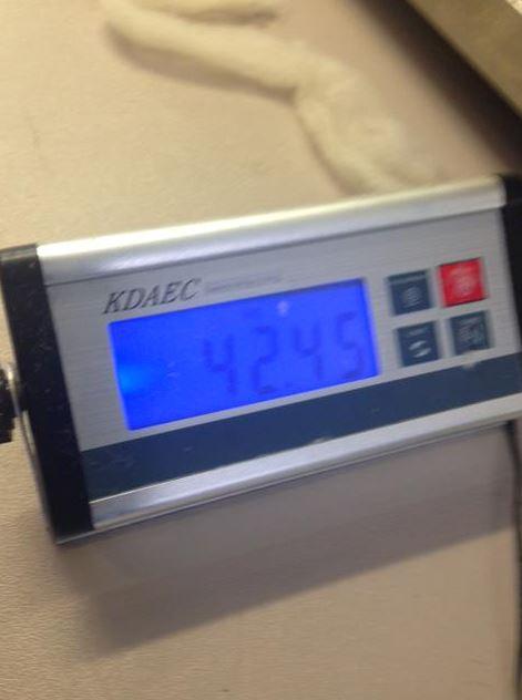☞42.45kg (居然比小編重(⊙o⊙)?!!不過小編矮T0T)