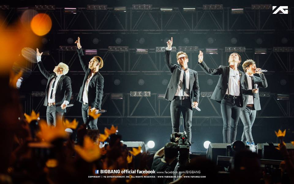 BIGBANG在今年發表8張單曲獲得音源榜上的大豐收,2015可謂BIGBANG之年