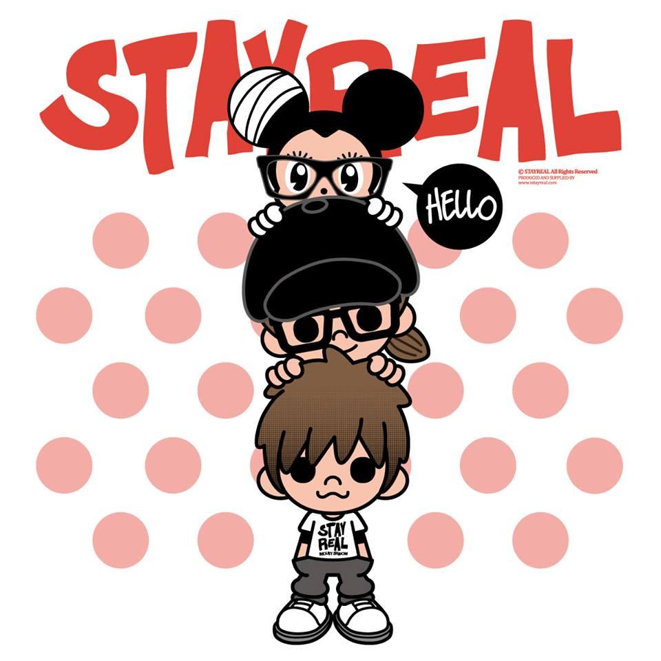 沒錯!就是由五月天的主唱阿信和藝術家不二良共同創立的品牌「STAYREAL」。
