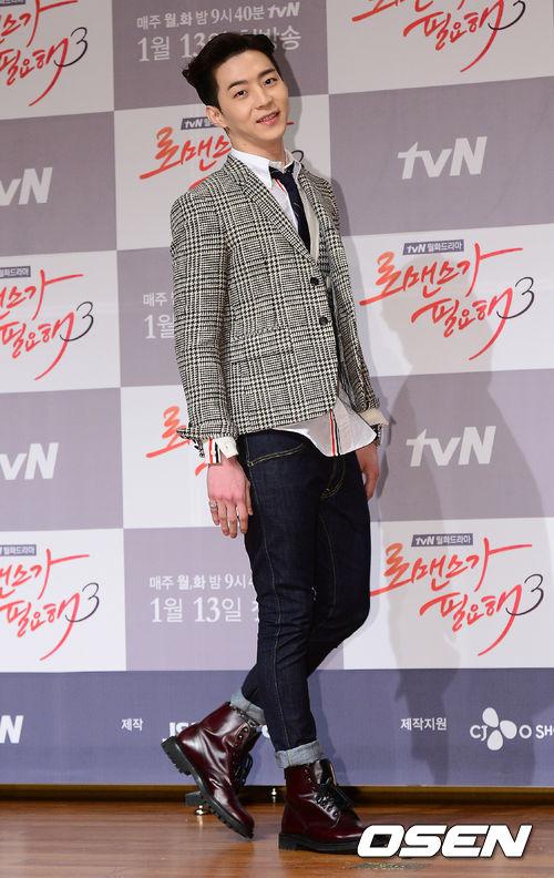 之前在需要浪漫3劇中的角色讓許多韓國女性也陷入他的魅力中♥