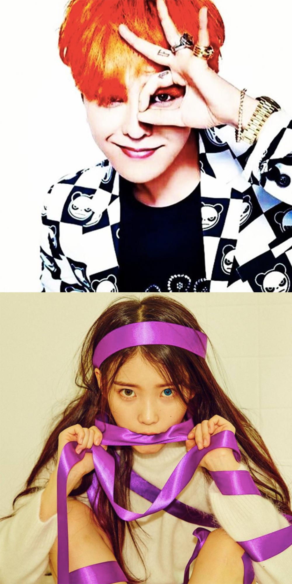 ZZANG ZZANG!就是「G-DRAGON」和「IU」喔!