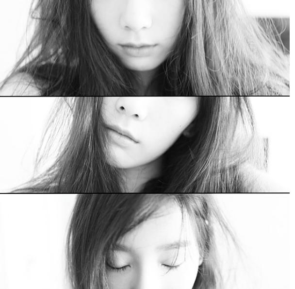 當然除了四格外,太妍也常常 po 這種很文青風格的照片。 每次看到都不自覺想要唱一段太陽的「眼、鼻、口」XD(對不起,不好笑。)
