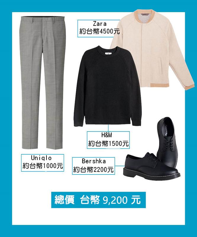 雖然稍微貴了一點  但都是相當好與其他衣物搭配的單品 這三組風格在這個秋天你絕對要試一試 (或強迫男友試一試)