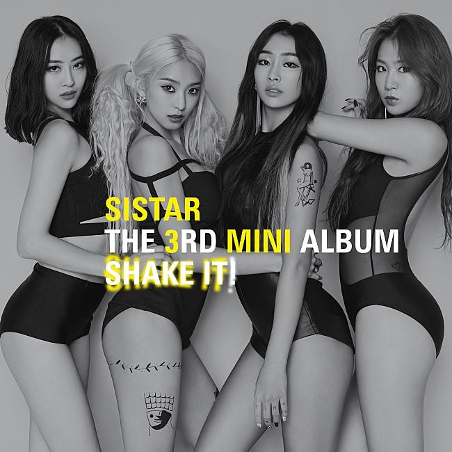 TOP 16: Sistat《Shake It》 第三張迷你專輯《Shake It》(2015/06)