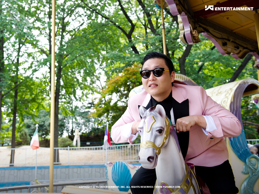 TOP 4: PSY《江南Style》 第六張專輯《PSY 6甲, Part 1》(2012/07)