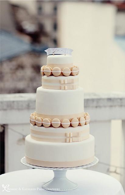小編一直以為婚禮蛋糕只是為了慶祝而擺在那邊 原來不是呀....顆顆
