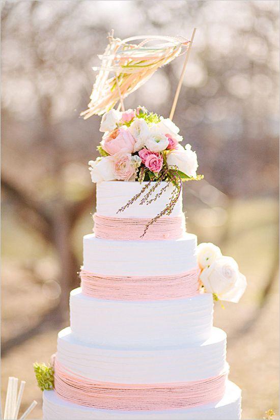 不知道是鮮奶油還是毛線..哈哈 有時婚禮上真的會有不是真正蛋糕的蛋糕