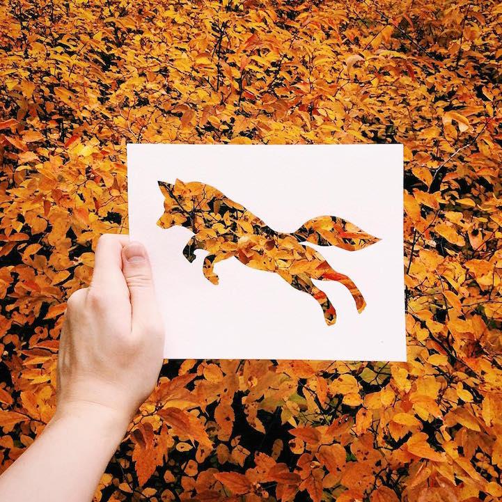 剪紙是一種傳統的藝術工藝,然而傳統也能玩出新花樣...