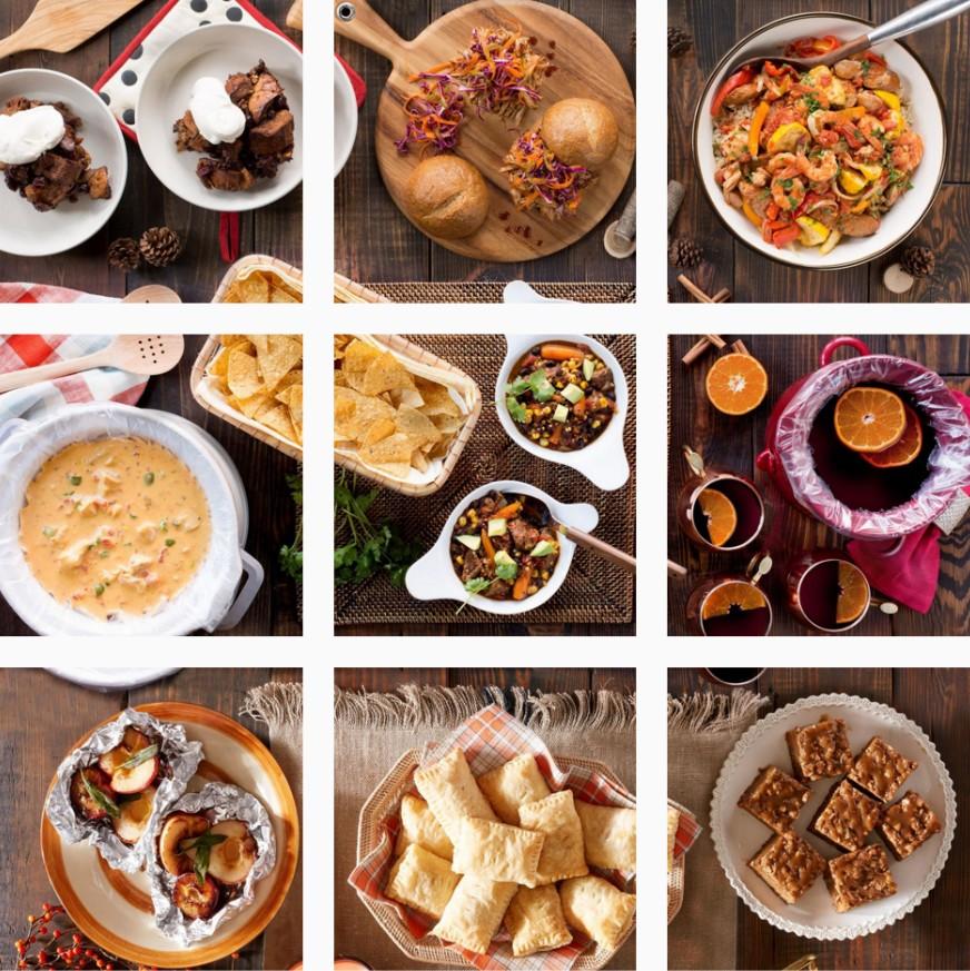 reynoldskitchens 是個相當特別的美食IG,打開之後會發現彷彿看見餐廳大長桌上擺滿了好吃又健康的食物,若想知道某道菜的作法,打開圖片後點下文字中的帳號,就可以看見完整食譜步驟囉!