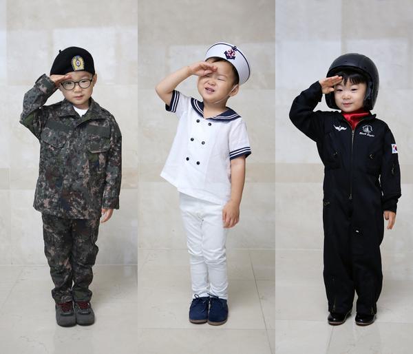 說到多胞胎就想提一下超可愛的「大韓民國萬歲」♥(姨母的私心無誤)