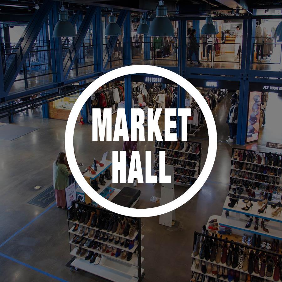 接下來當然也不能錯過聚集了男性精品的專區-market hall啦!