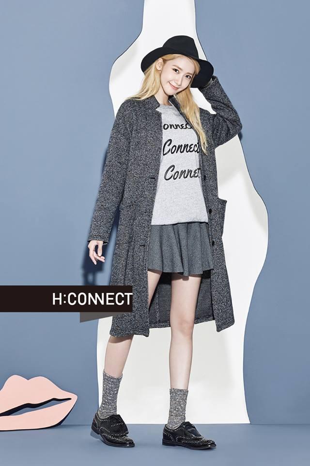 最近要獨自來台替品牌站台的潤娥也替H:CONNECT拍攝了一系列的秋冬畫報,相信少時迷們到時應該會很熱烈的歡迎潤娥的到來~