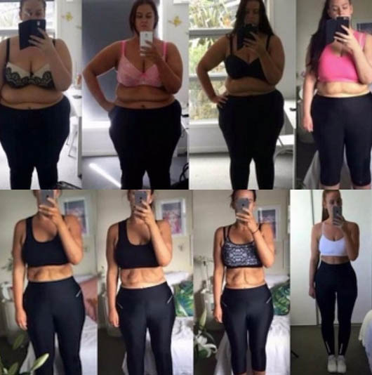 就這樣成功地結束了說長不長,說短不短的1年減肥過程!!!!!