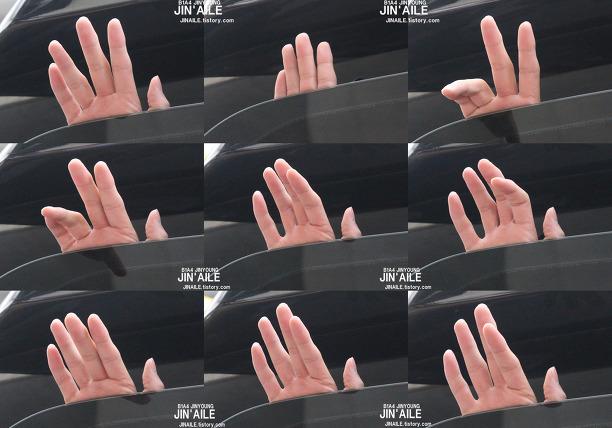振永的手也是眾所皆知的美麗。
