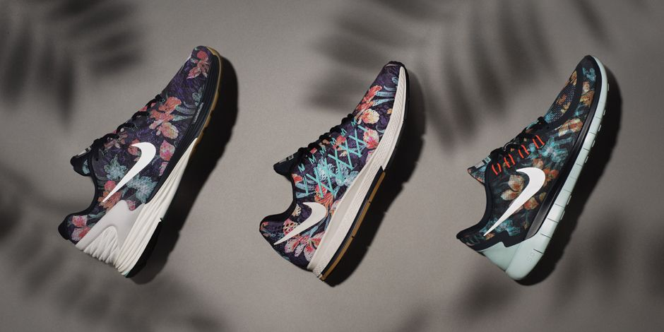 一直很受歡迎的 Nike Air Zoom Pegasus 32 除了可以接受客製化服務,最近也推出了 Photosynthesis 的印花系列,有八種盛開花朵的配色可以選擇,低調中帶點摩登的感覺。