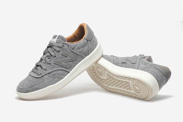 專為女生設計的New Balance 新款鞋,以灰色羊毛氈材質為設計核心,同時也推出黑色款,即使不運動,日常搭配也很很實用。目前只在幾間限量的網站販售。