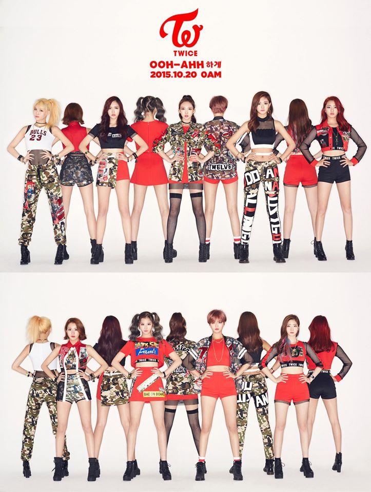 大家都知道 JYP 最近出了一個新女團「TWICE」嗎?