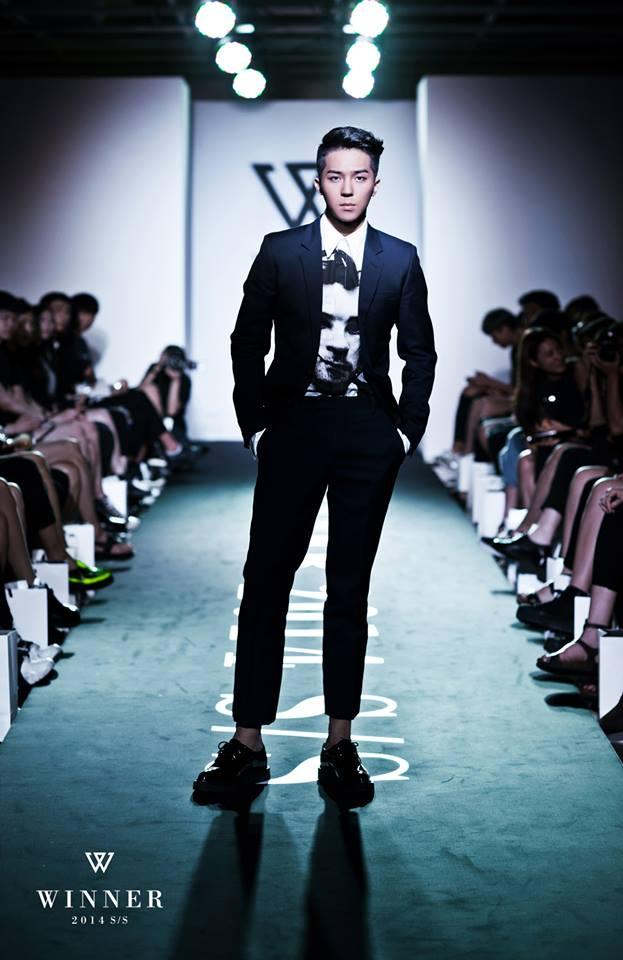 宋閔浩是 WINNER 的成員,今年參加《Show me the money 4》並奪得第二名。