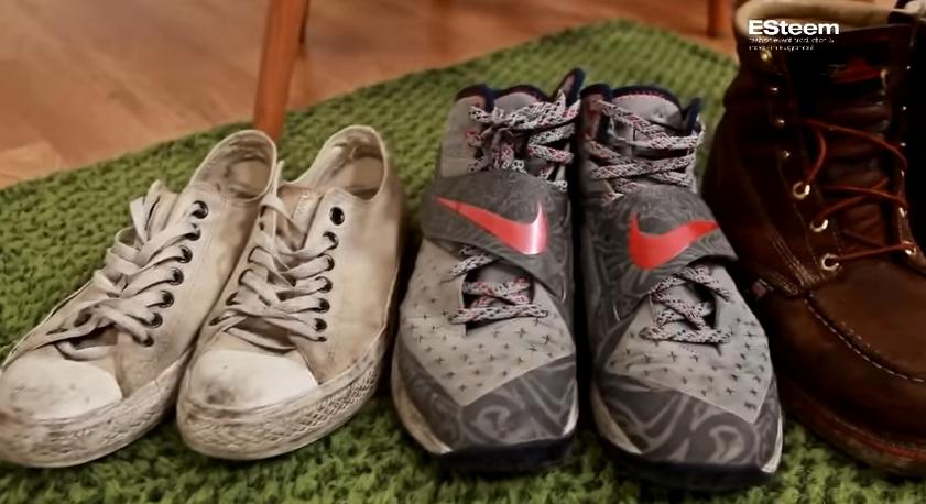 復古的鞋子們