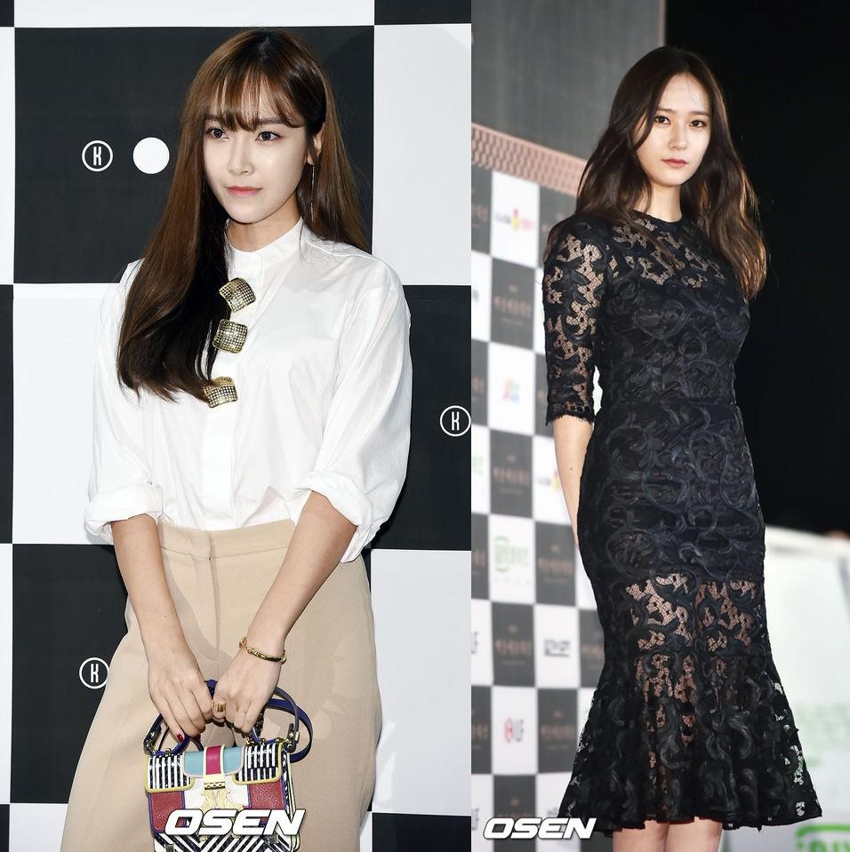 1.Jessica、Krystal 首先大家腦中浮現的應該是這一對鄭氏姐妹吧~