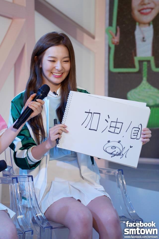 話說Red Velvet的瑟琪也很喜歡畫畫,也常在節目中將作品展現給大家看~