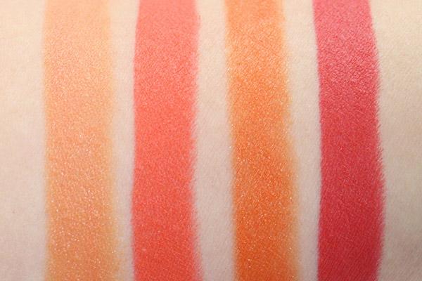 顏色真的很清晰又漂亮. Nikita口紅的蓋子是橘色,但擦出來其實偏向紅色..ㄏㄏ