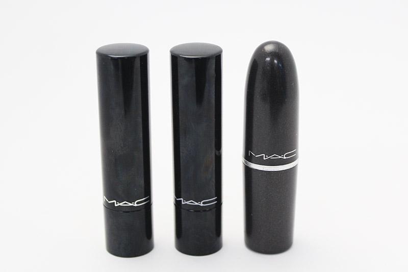 1.MAC Sheen Supreme Lipstick: New Temptation  2.MAC Sheen Supreme Lipstick: Korean Candy 3.MAC: Morange