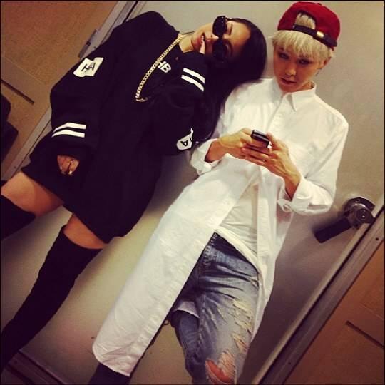 3. 基琳組 BIGBANG G-Dragon 和 2NE1 CL 但其實很多人覺得兩隊隊長更適合!都有霸氣、rap擔當,而且時尚潮範爆表!