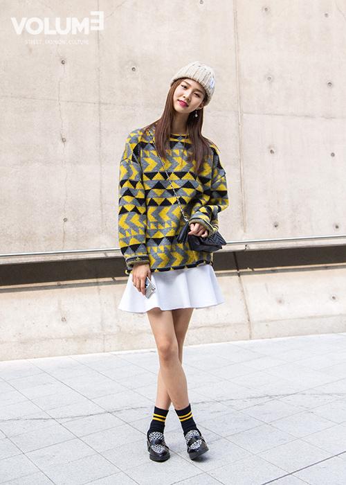 4.樂福鞋 超有範~上腳非常有型~簡約又時尚~而且百搭,穿上瞬間時尚女青年一枚!