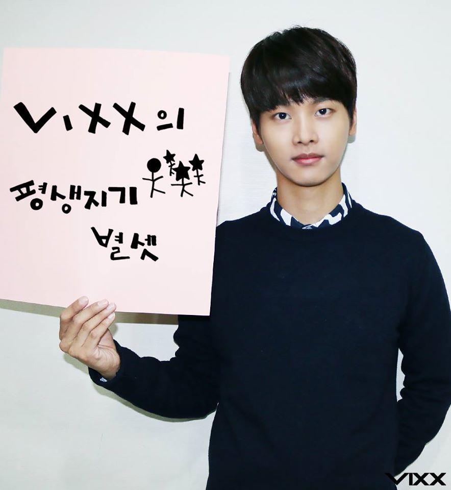 【N】說到字母譯名,當然不用說VIXX裡面人氣旺的成員之一N啦~