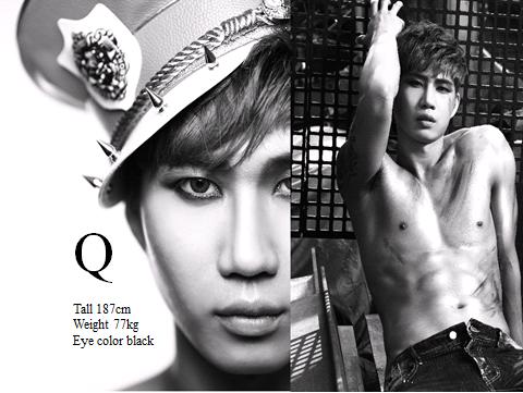 【Q】2013年經由單曲《The Beginning N.O.M》出道的4人團體N.O.M,其中一位成員叫做Q,但最近看官網近照,疑似已經離團惹T0T