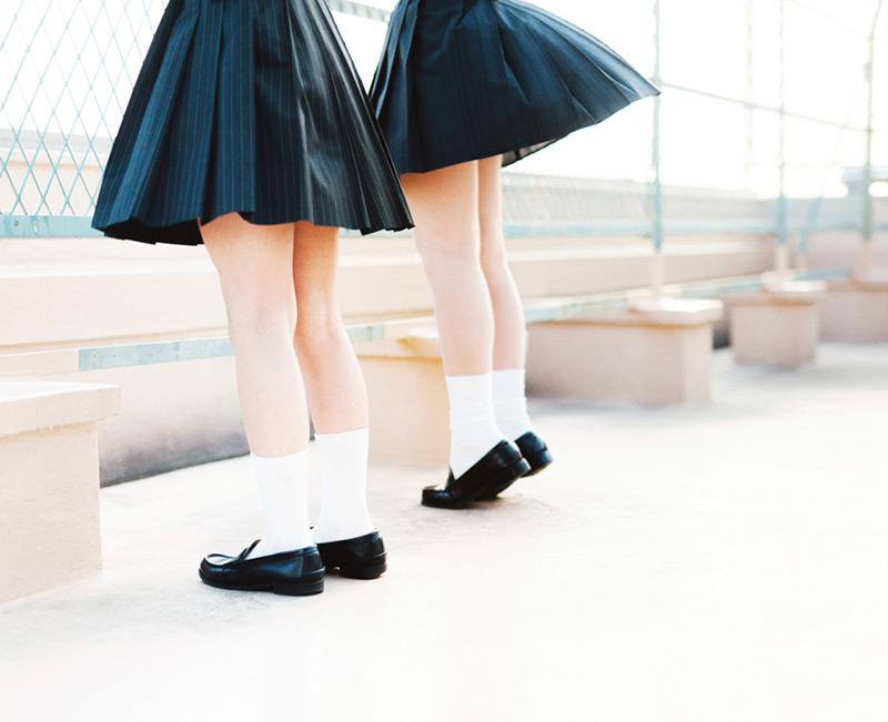 在韓國不是那麼很普遍的制服服裝,因此會給人更大的浪漫
