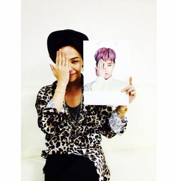 接下來要分享的「溫美男」就是 BIGBANG 的 G-Dragon。