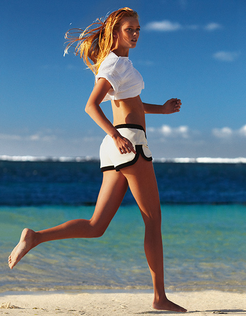 2. 跑步能讓身體體型變得很美麗. 漂亮的身材是指在有適當的肌肉與體脂肪的情況下. 跑步可以消耗大量的活力因此對減低體脂肪有很大的效果.