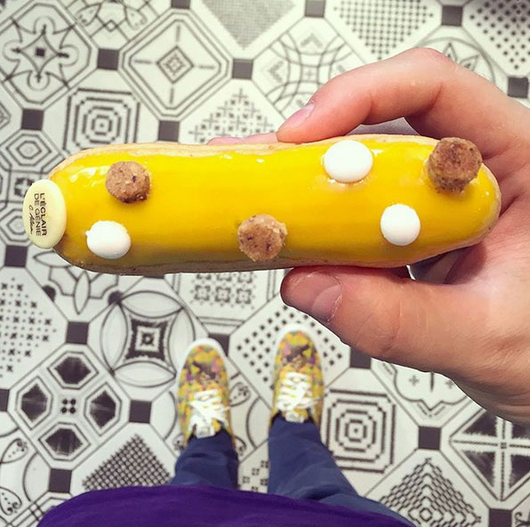 檸檬柚子味泡芙!