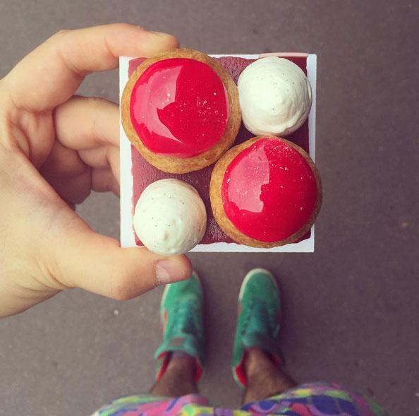 大廚的IG裡,不只有甜點,還有店名的呢~在巴黎遊玩的鄉民看到了一定要去拜訪一下這些美食店哦!