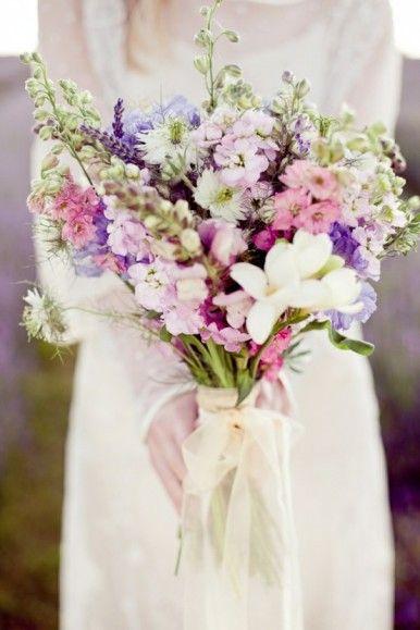 用一些野花,也蠻美的